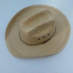 EUC Atwood Men's Cowboy Western Straw Hat